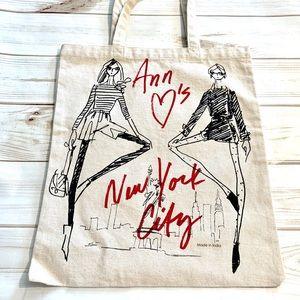 Ann Taylor - Artisan Cotton tote bag!